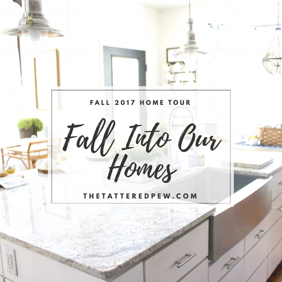 Fall Into Our Homes: Fall Kitchen Tour 2017