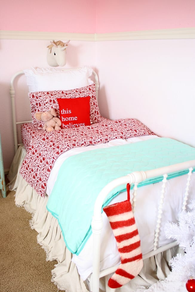 The Tattered Pew Christmas Bedroom