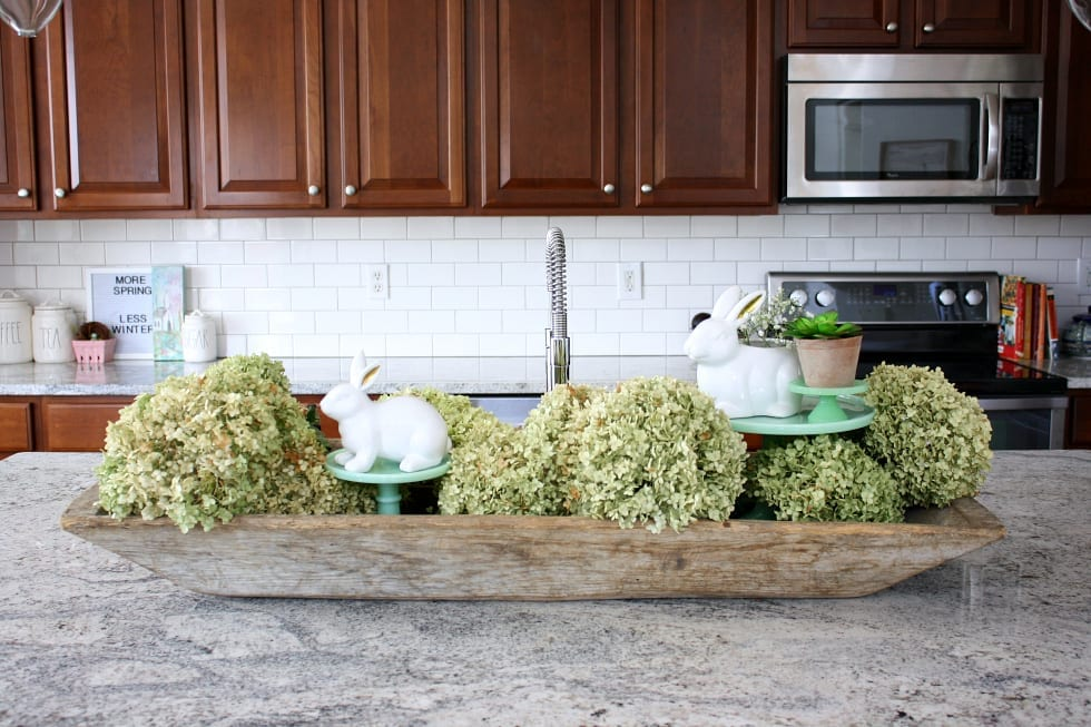 I Saved My Dried Hydrangeas From Last Summer And Filled My Vintage Dough  Bowl Full Of Them! Donu0027t They Still Look Amazing? If You Are Curious About  The ...