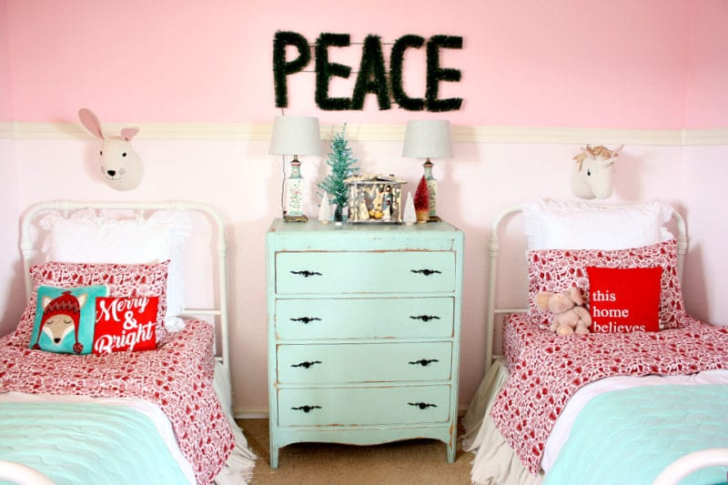The Tattered Pew: Christmas Bedroom