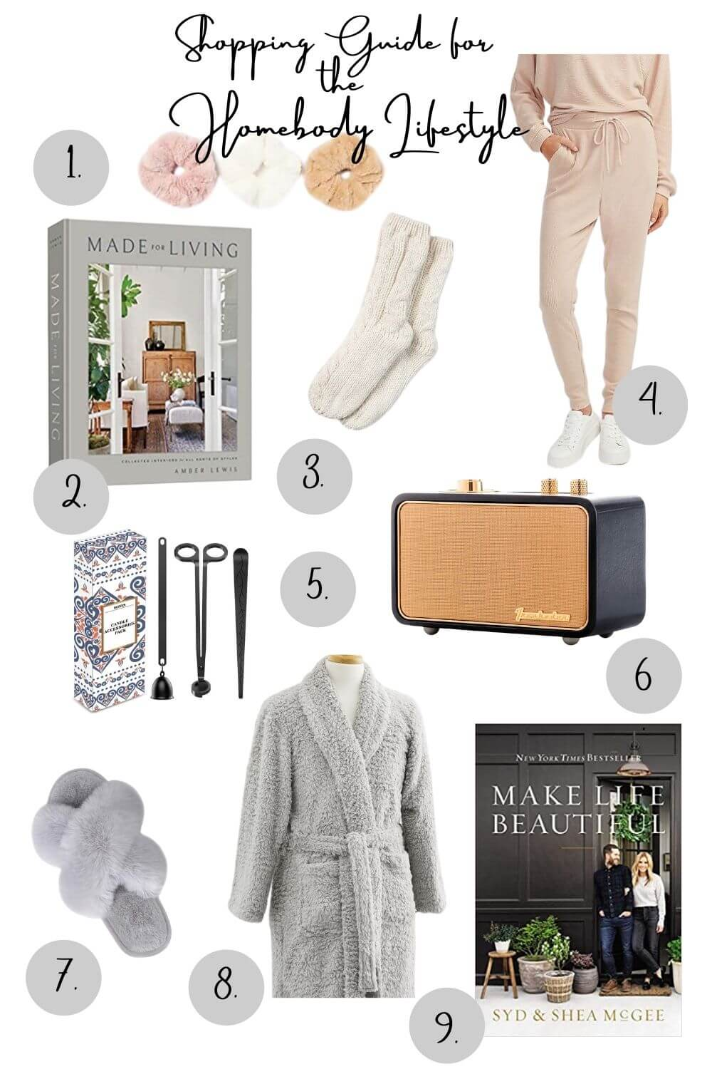 Welcome Home Sunday: Gift Guide for the Homebody