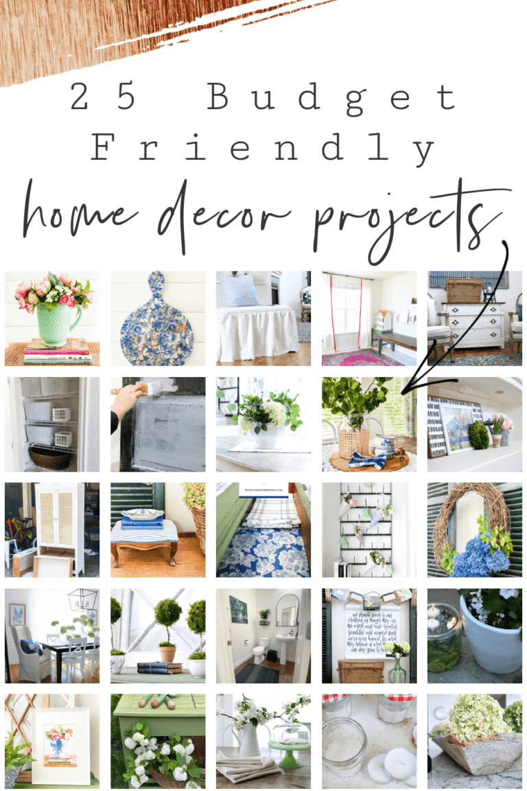 25 Budget Friendly Home Decor Projects