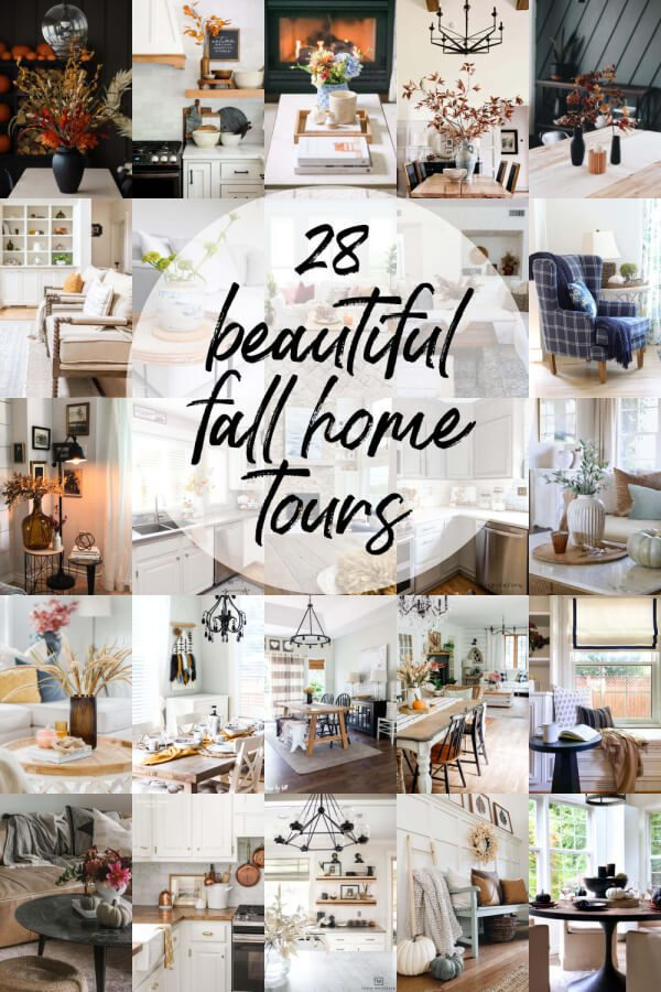 Come take a tour of 28 beautiful homes decorated for Fall!