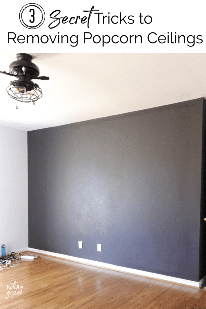 Welcome Home Sunday: 3 tricks to removing popcorn ceilings
