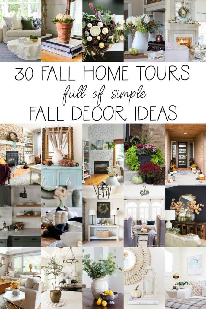 Come step inside 30 Fall Home Tours !