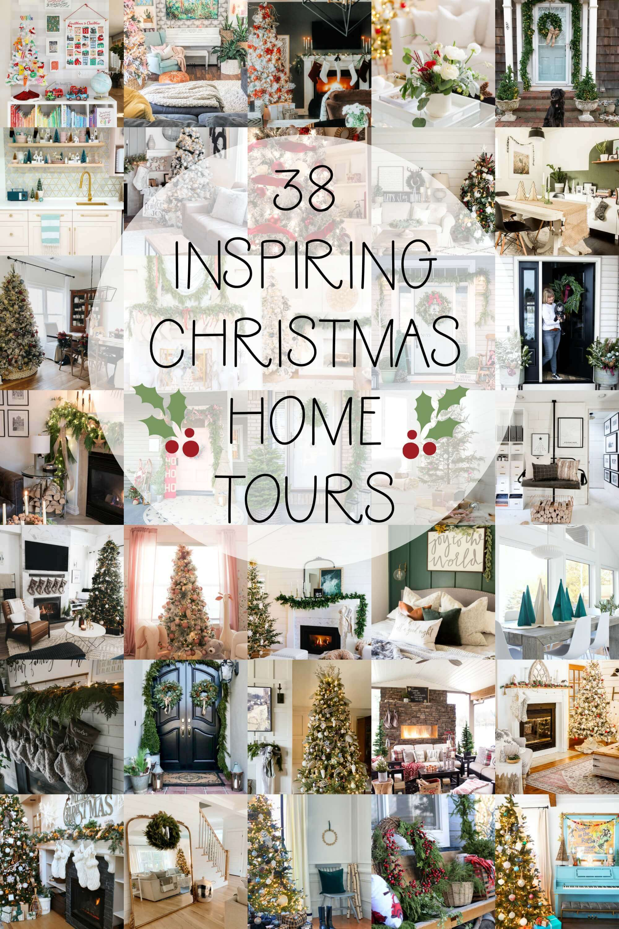 38 Inspiring Christmas home tours you won't want to miss!