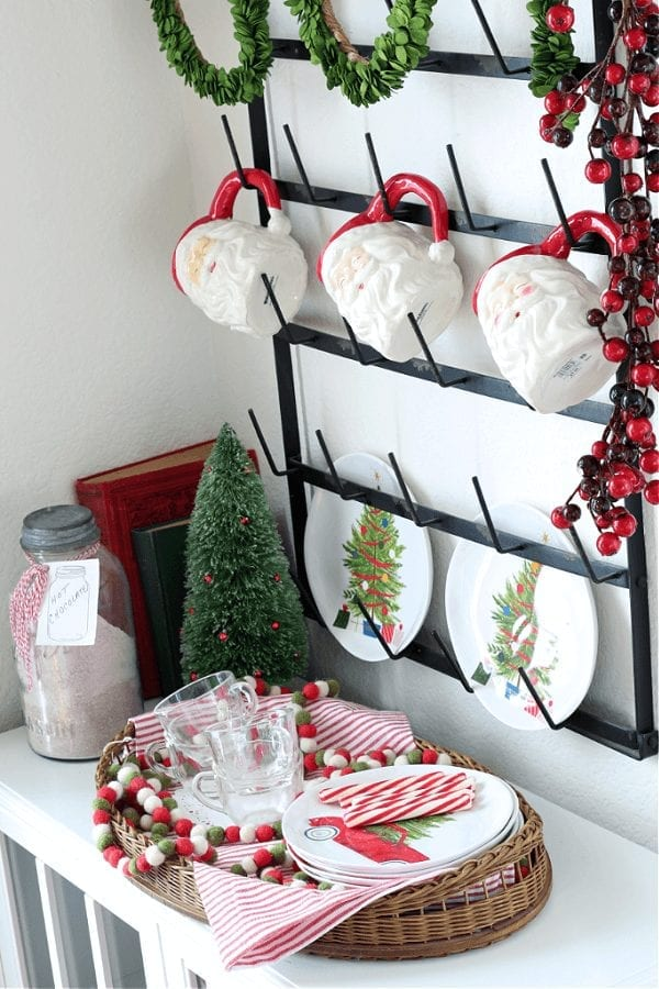 A family friendly hot cocoa bar is all about the fun accessories!