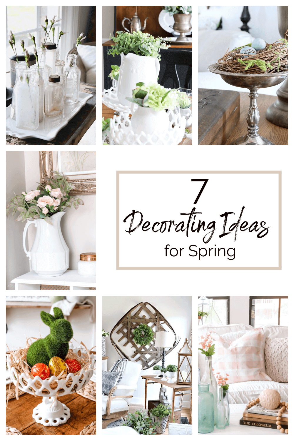 Welcome Home Saturday: 7 Decorating ideas for Spring