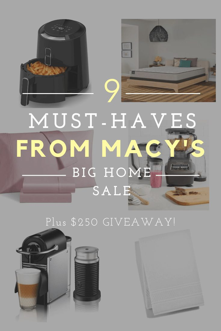 9 Must-Haves To Score During the Macy's Big Home Sale
