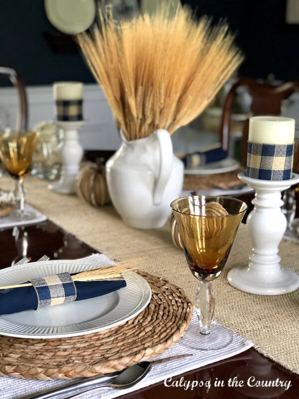 Autumn Inspired Decor - Autumn Tablescape two ways Calypso in the Country