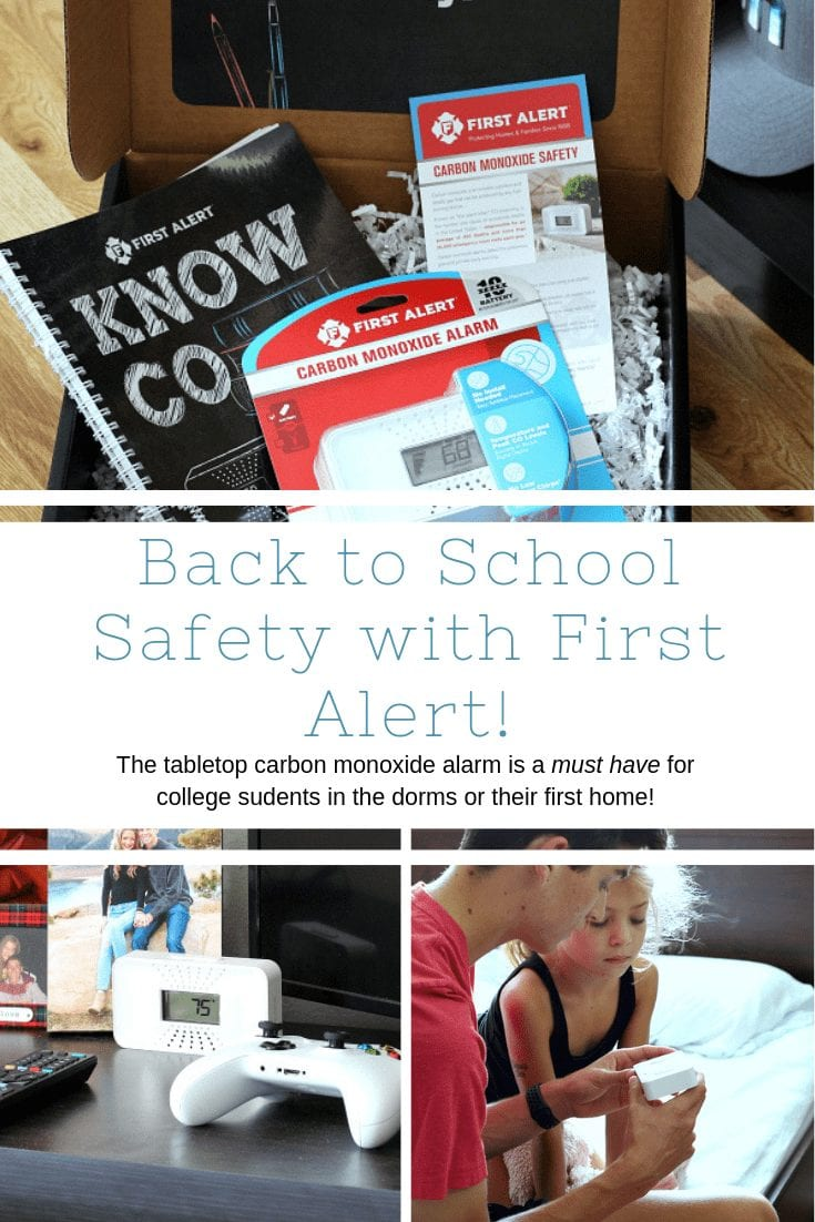 Back to School Safety: The Tabletop Carbon Monoxide Alarm From First Alert