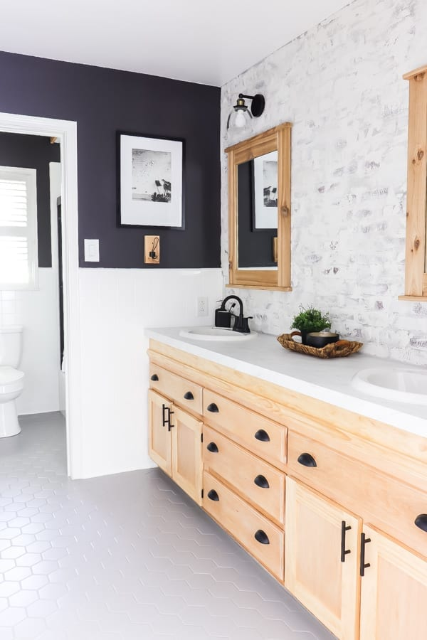 Welcome Home Sunday: DIY Bathroom makeover