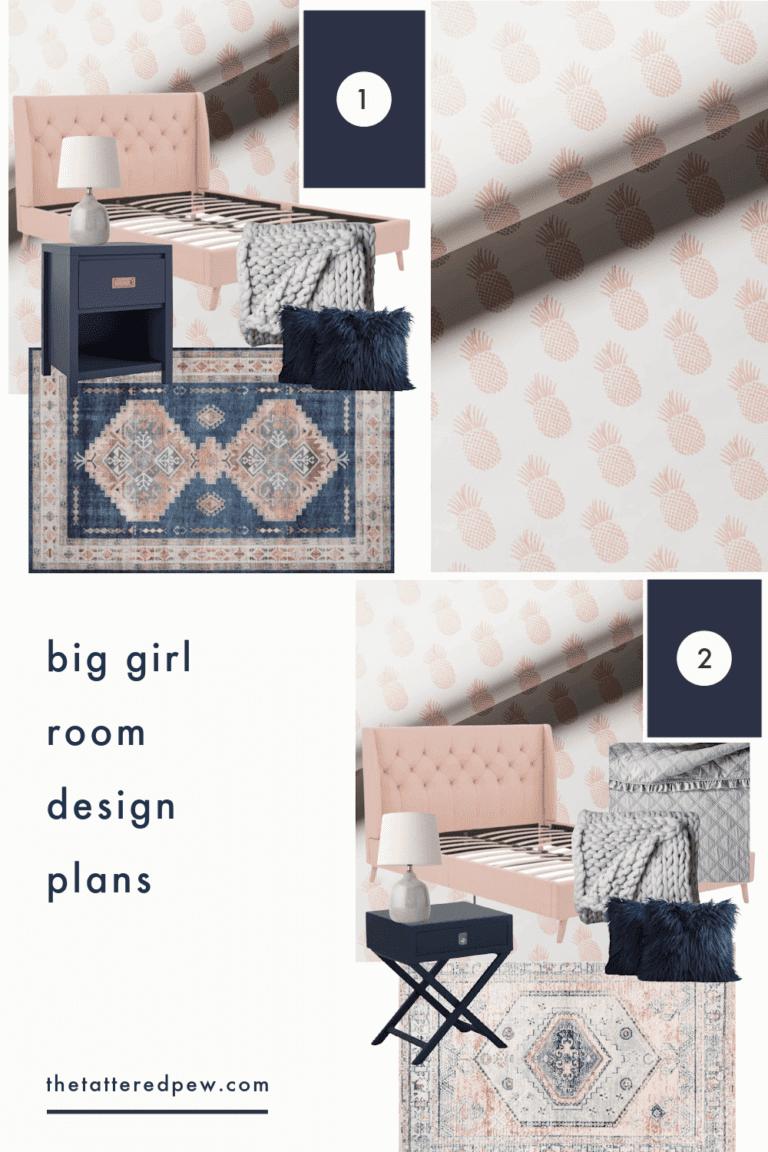 Big Girl Room Design Plans