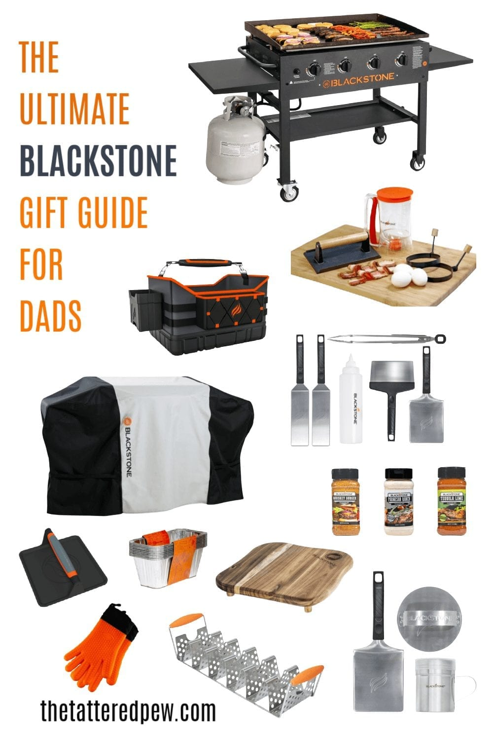 This is the ulitmate Blackstone gift guide for dads!