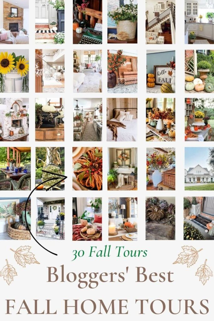 Don't miss these gorgeous 30 Fall home tours!