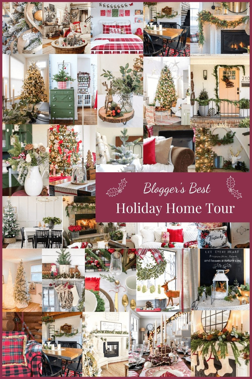 Need some Christmas inspiration? Stop by the Bloggers Best Holiday Home Tour!