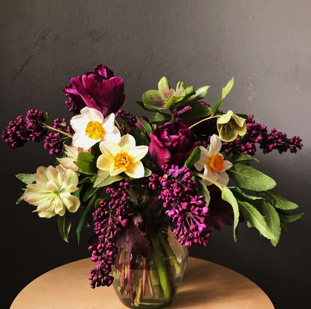 Check out Blooming Betties for a monthly flower subscription. Perfect for Mother's Day!