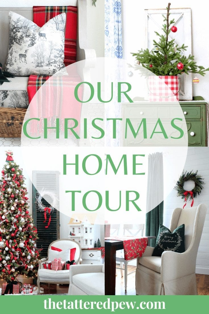 Come take a peek at our Christmas home tour!