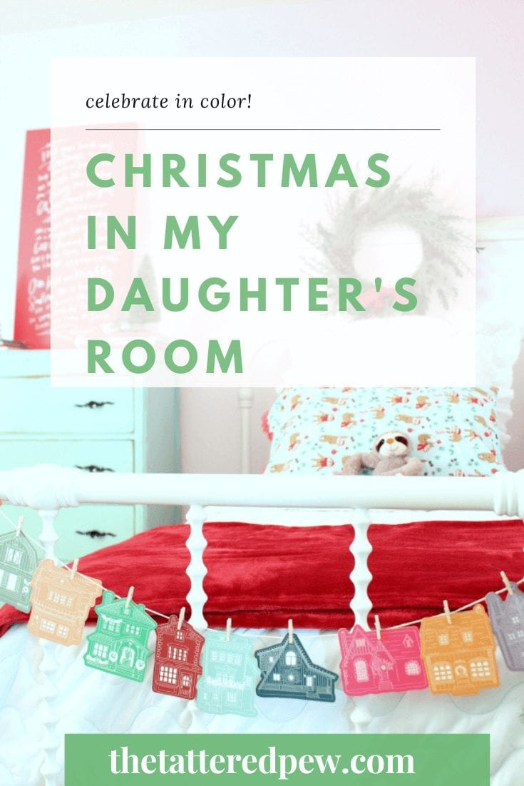 Come take a peek at Christmas in y daughter's room!