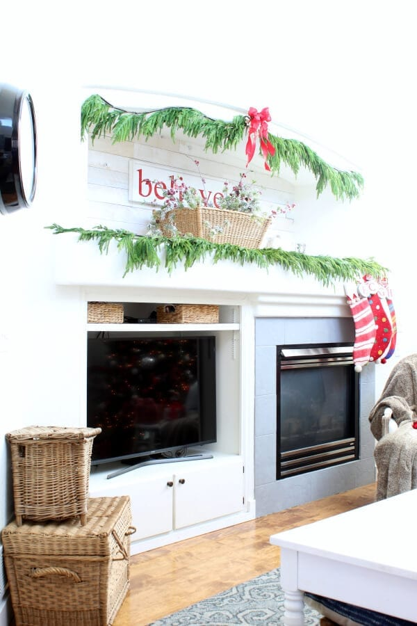 We believe...come visit our Christmas home tour!