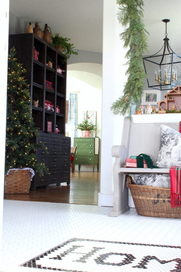 a ix of greens, reds, berries and plaids for Christmas this year!