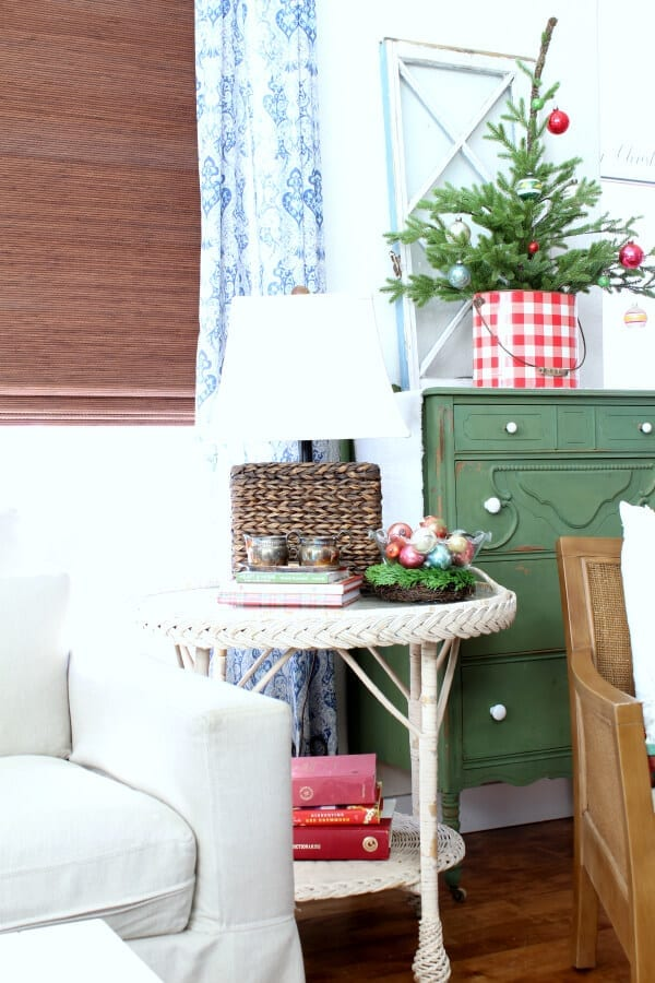 Vintage touches make our Christmas home tour sentimental and cozy!