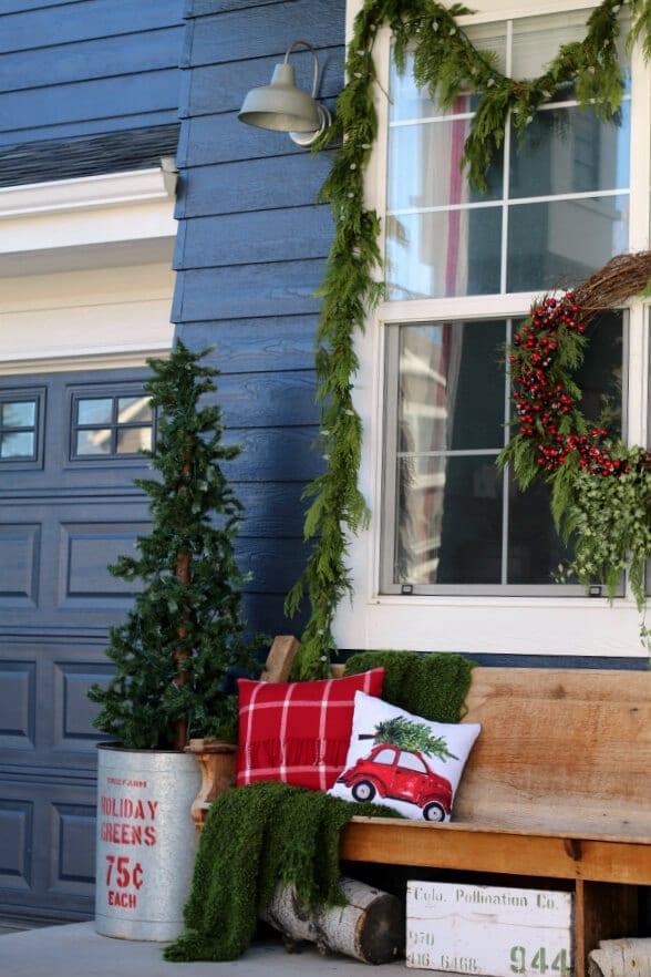 Christmas on the porch tour!