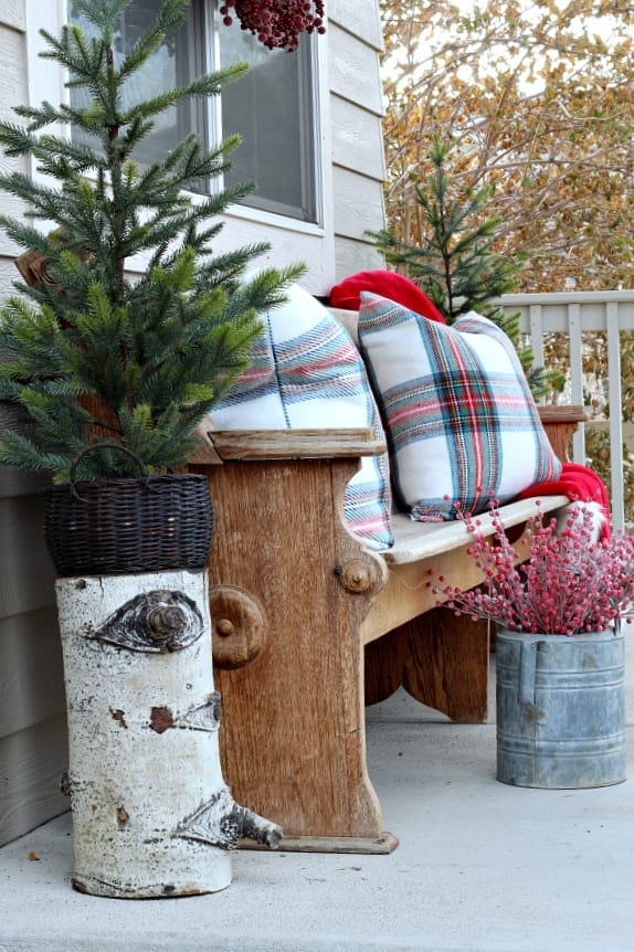 Christmas On The Porch