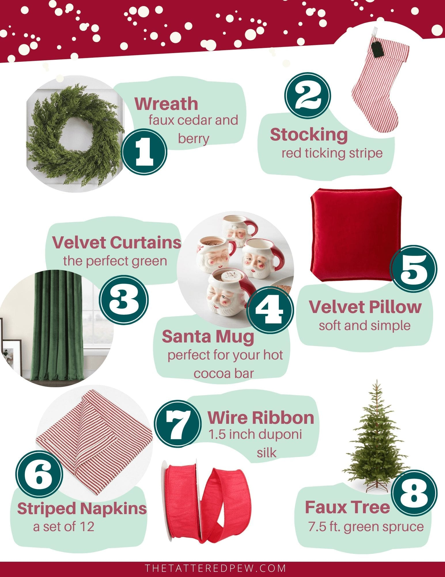A peek at my Christmas decorating plans for this year...shop with me!