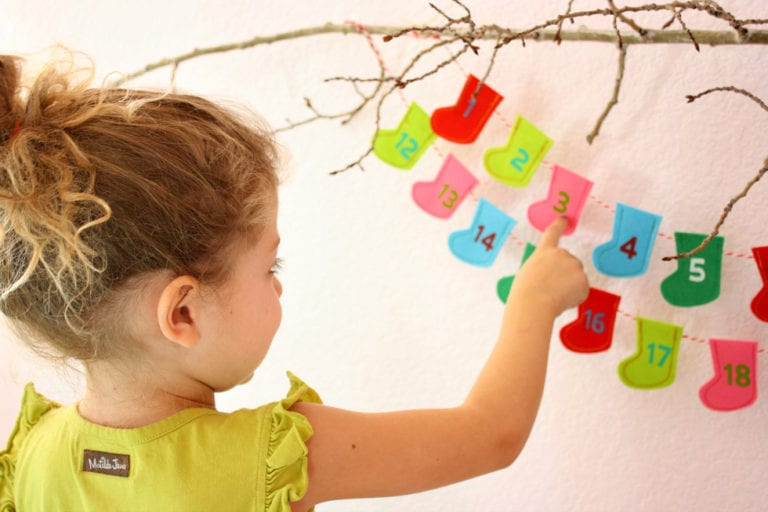 DIY Kids Advent Calendar