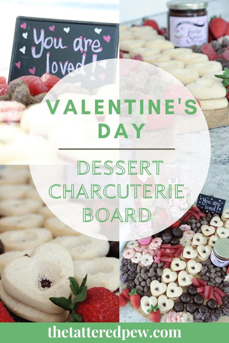 Try this Valentine's Day dessert charcuterie this year..it's a lot easier than you may think!
