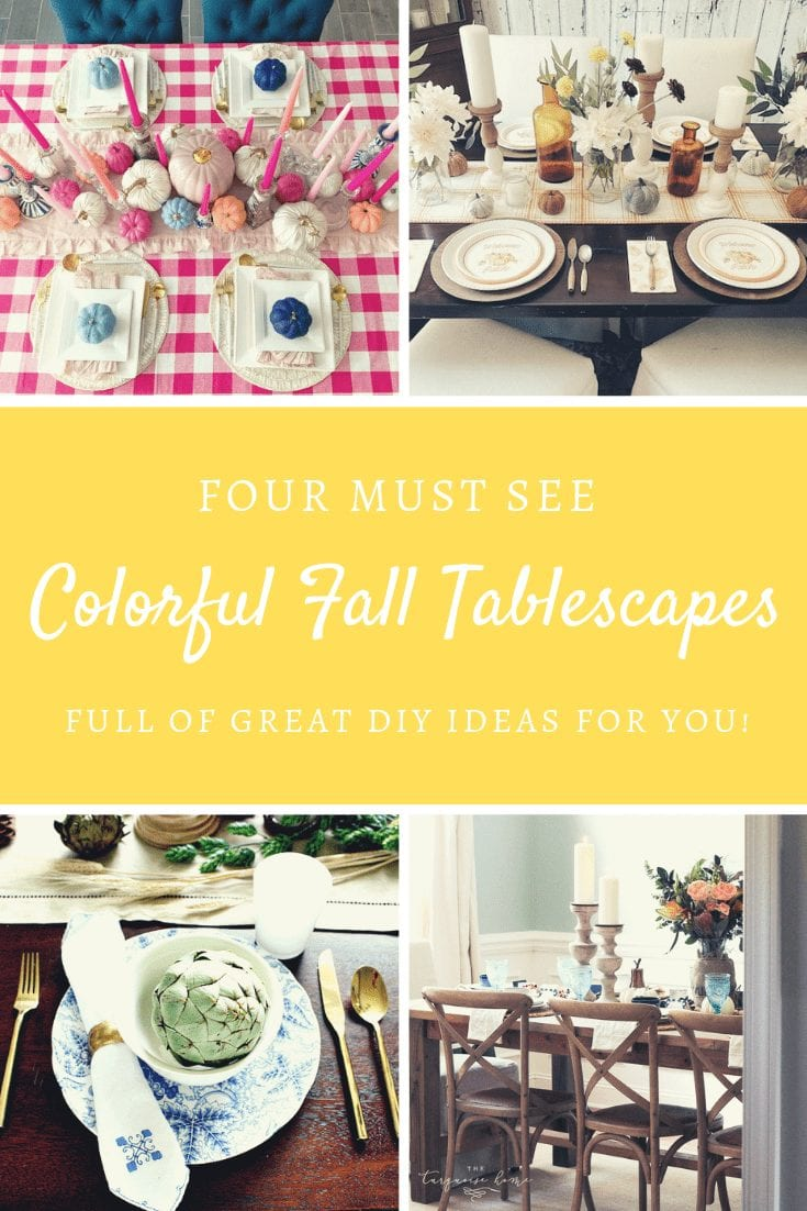 Four Inspiring DIY Fall Tablescapes