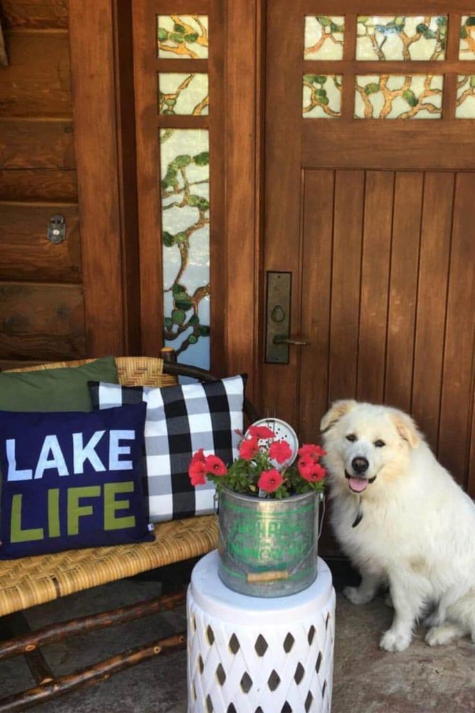 Welcome Home Sunday: Buffalo check decor inspiration