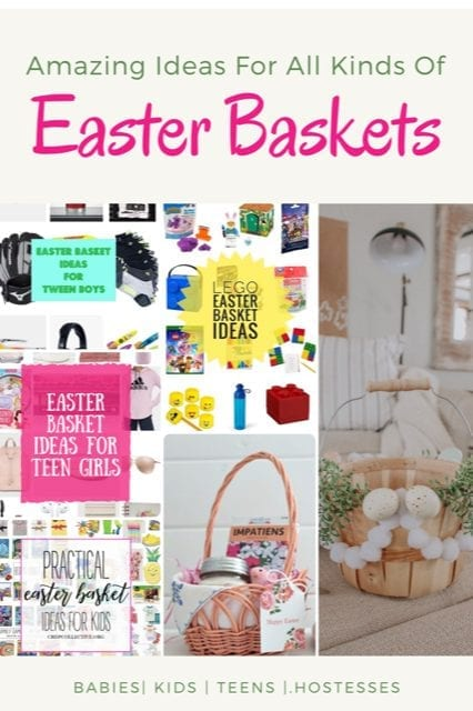Amazing Easter basket ideas for everyone.