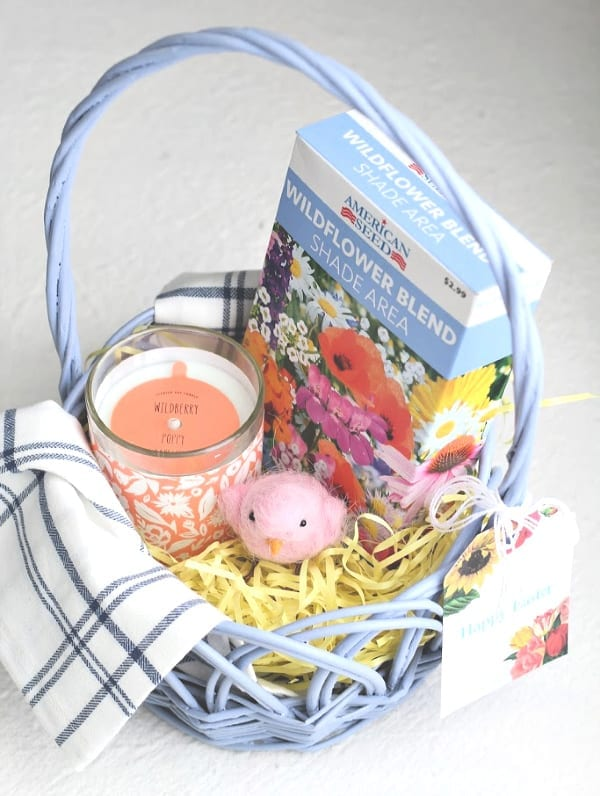 ANy hostess would love this thoughtful Easter basket full of treats.