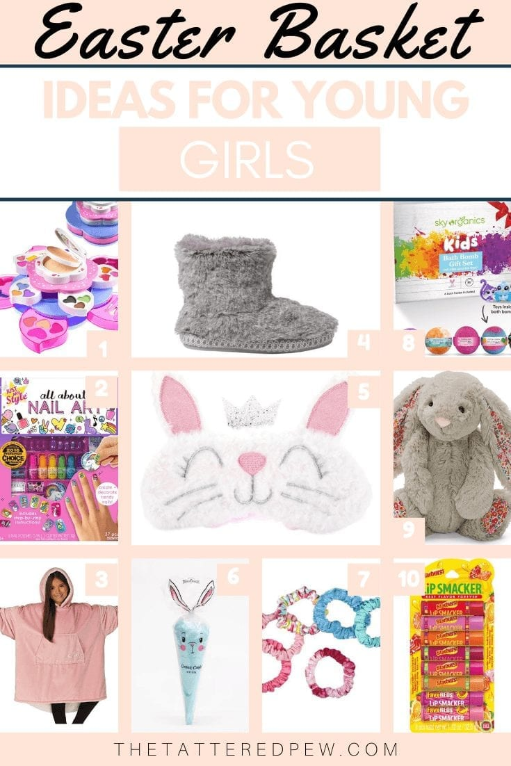 Easter Basket Ideas For Young Girls