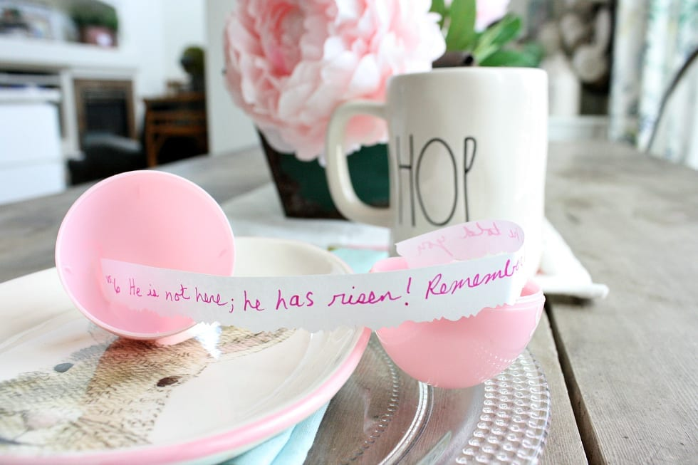 Scriture Eggs- A fun faith filled family tradition for Easter.