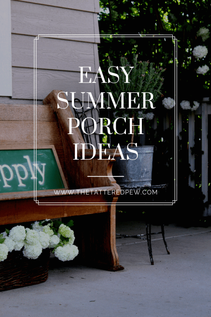 Great tips and tricks to help you easily decorate your porch.
