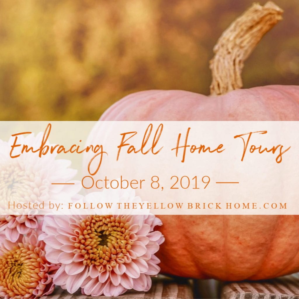 Come see some fabulous Fall home tour inspiration.