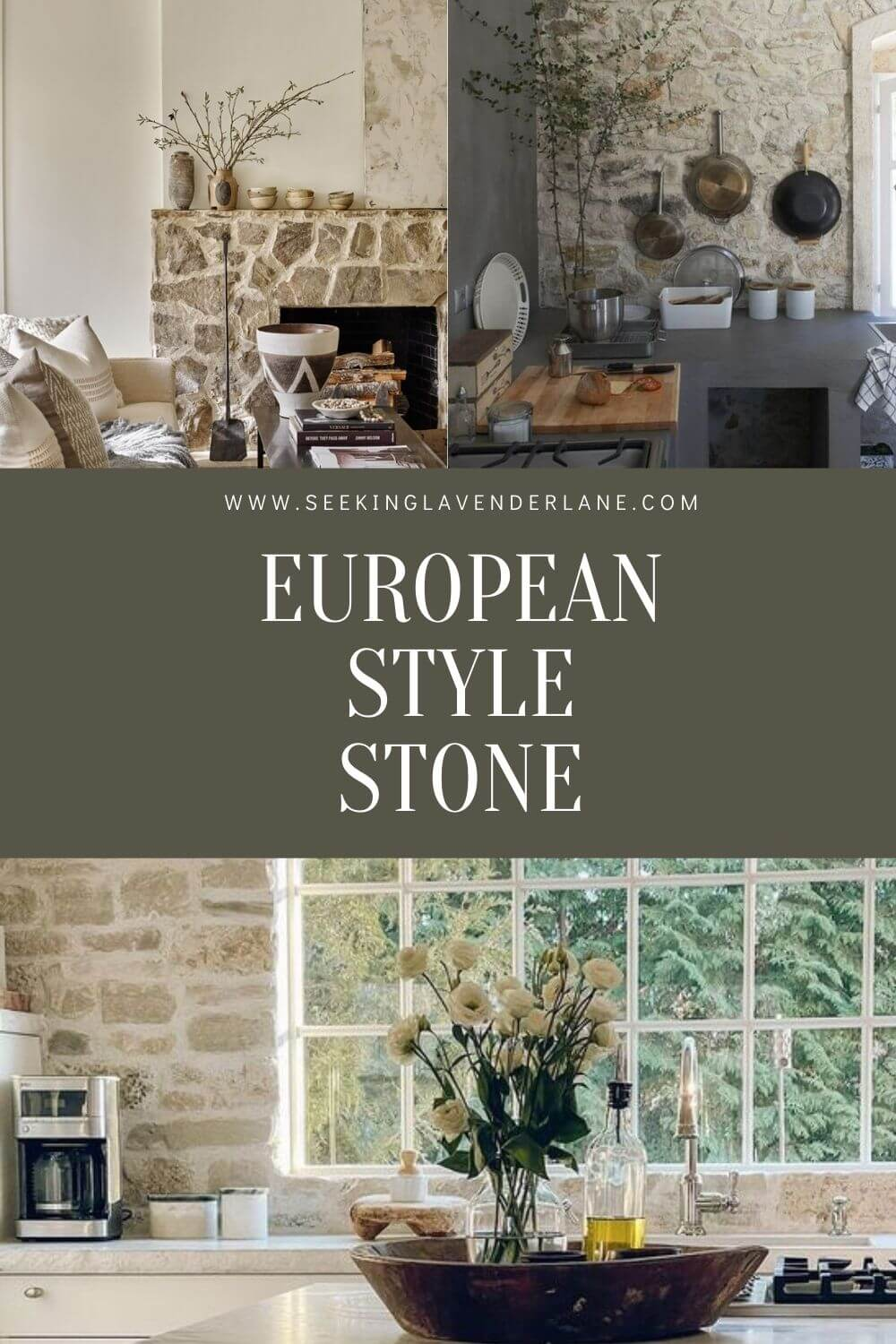 Welcome Home Sunday: European Style Stone