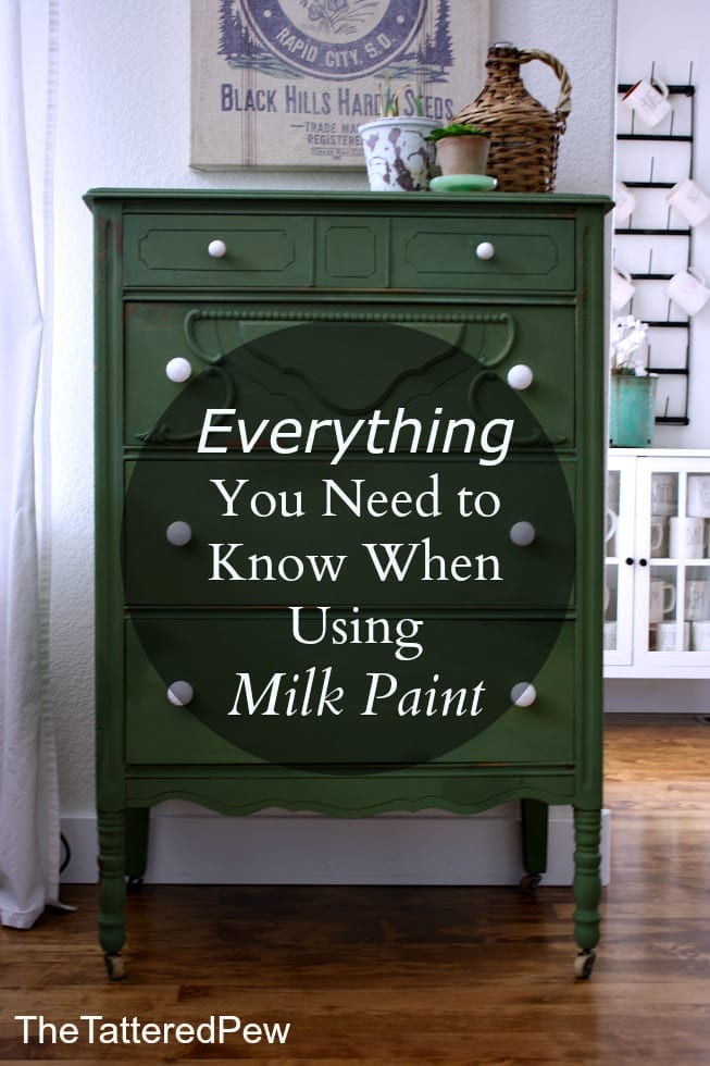 Everything You Need to Know When Using Milk Paint