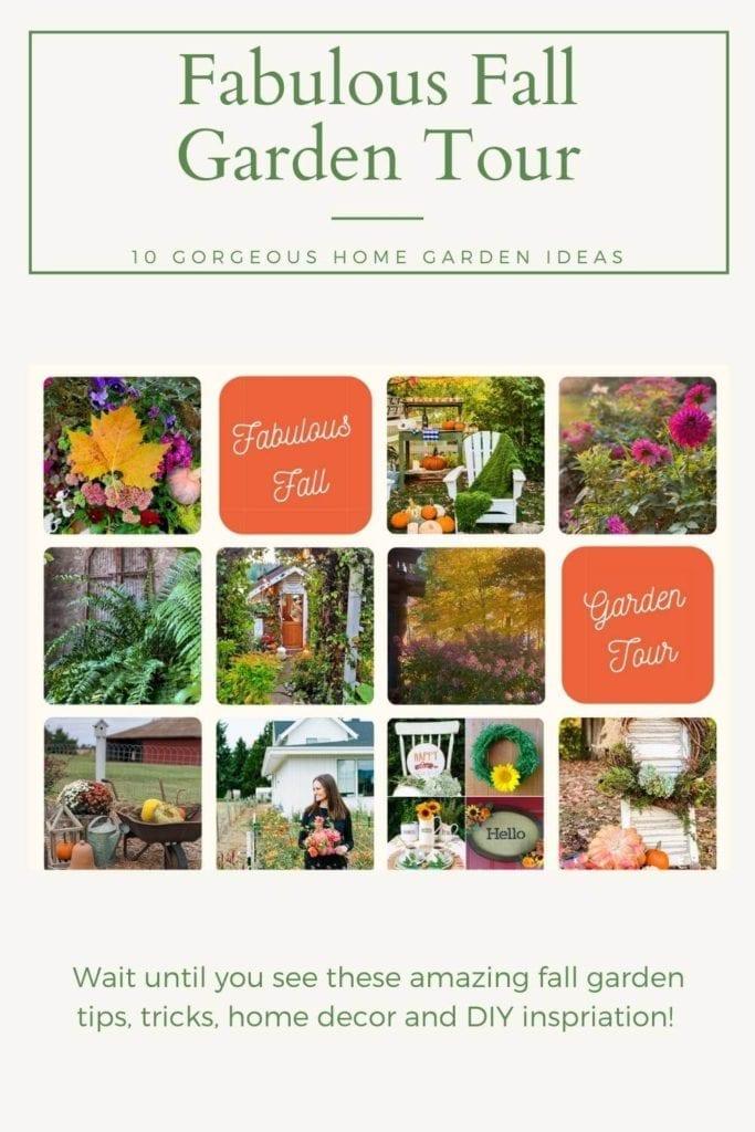 Join us for 10 Fabulous Fall Garden tours!