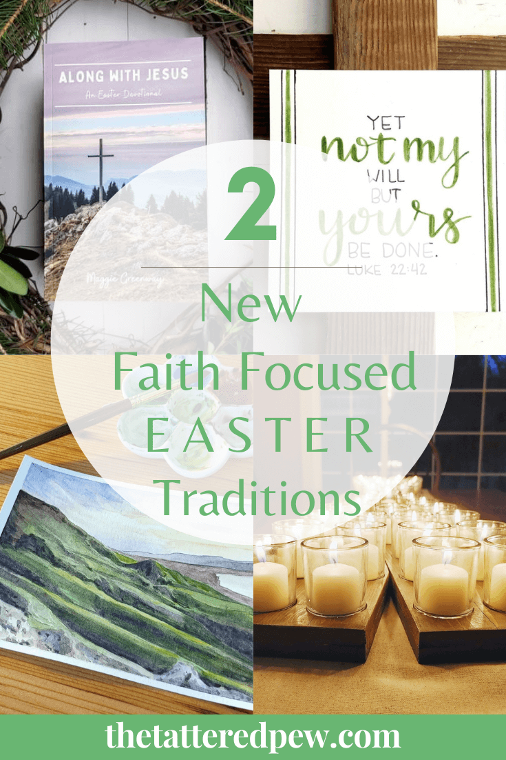 Do you celebrate Easter? You will LOVE these 2 new faith focused Easter traditions!