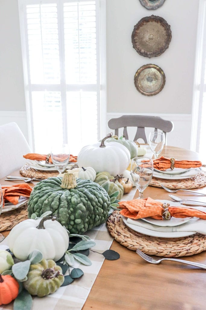 Welcome Home Sunday: Create this pumpkin tablescape in just 30 minutes!