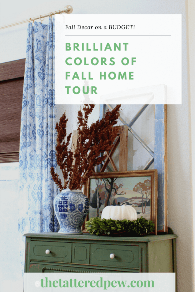 Looking for Fall deocr on a budget? Then stop by my Fall home tour!