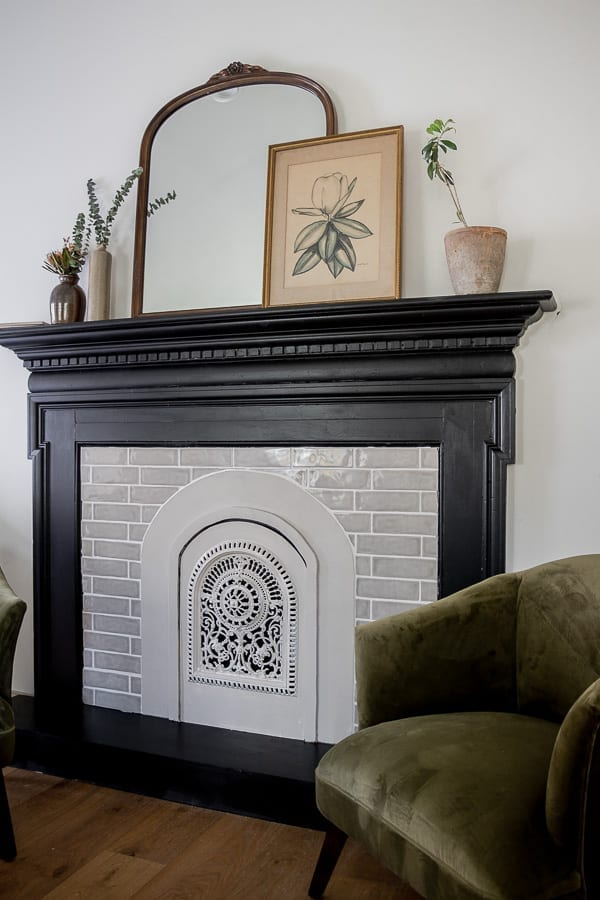 Welcome Home Sunday: Seeking Lavender Lane Faux Mantel