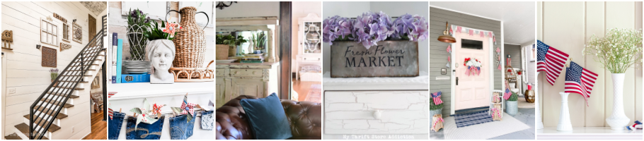 Graphic for Blogger's Best Summer Home Tour Friday