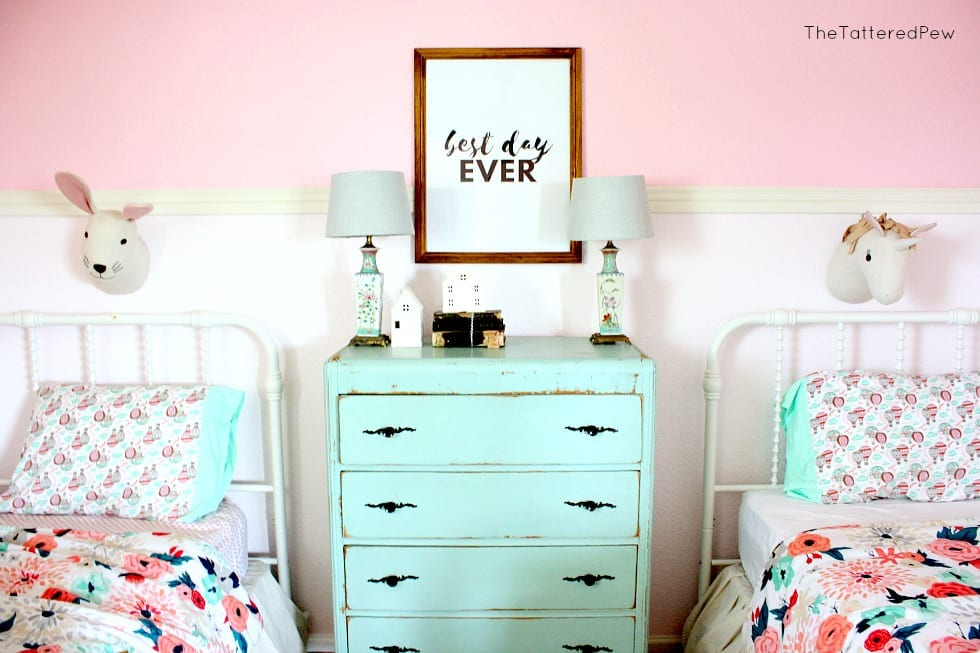 Mixing old and new decor can be fun and allows your home to tell a story!