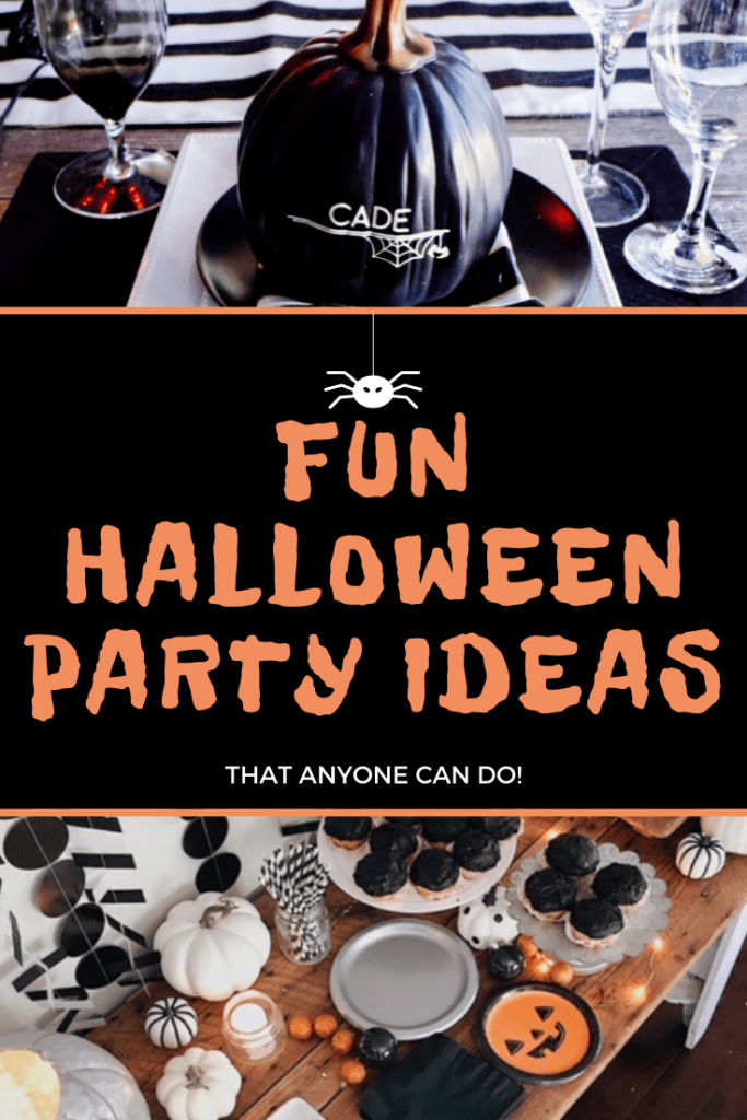 Fun Halloween party ideas that anyone can do!
