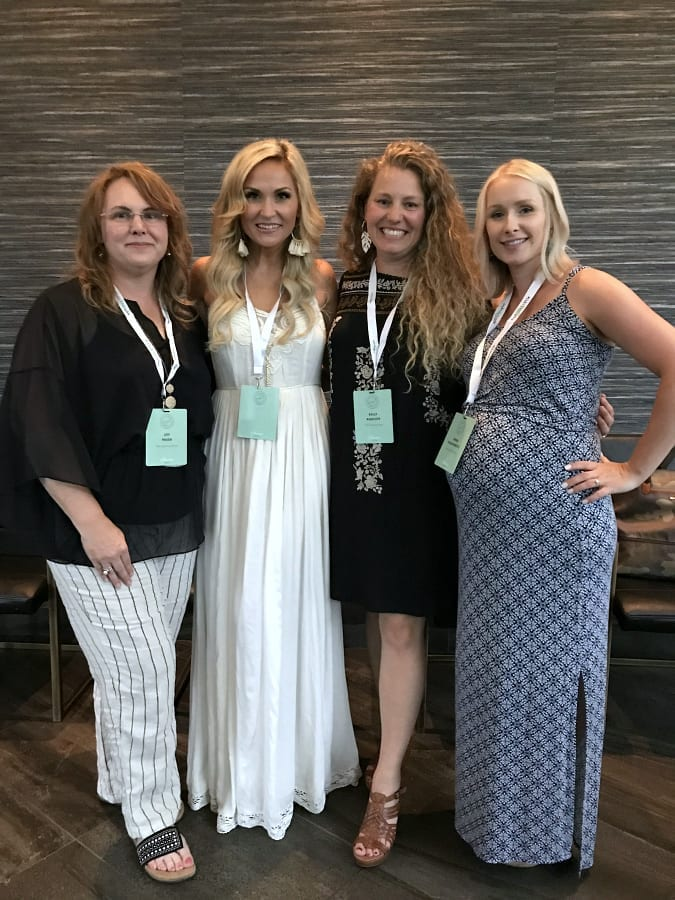 Friends at the Jeffrey Court Tile dinner at Haven 2019